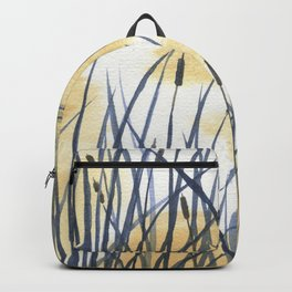Dawn on the pond Backpack