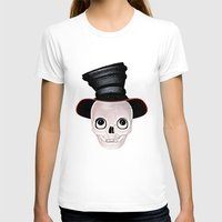 mad hatter T-shirts featuring Mad Skull Hatter by Texnotropio