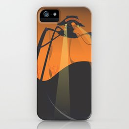 the war of the eyes iPhone Case