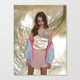 Mother of Pearl Edit Canvas Print