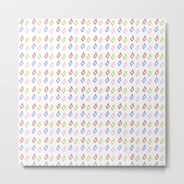 multicolor rectangles- geometric,abstraction,rectangle,multicolor,fun,pattern,joy,serious,cool,color Metal Print