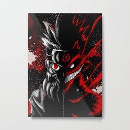 NarutoAnime Metal Print