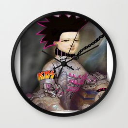 Marie my BITCH Wall Clock
