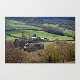Aber Farm  Canvas Print