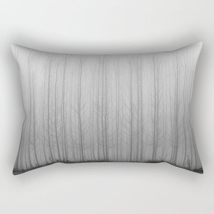 """""""Rectilineorum"""". Bw Rectangular Pillow"""