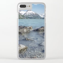 Portage Lake, No. 4 Clear iPhone Case