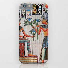 Isis On Papyrus iPhone Case