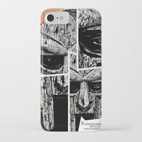 mf doom iPhone & iPod Cases featuring MF Doom by Crooked Octopus