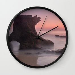 Roche reef. Cadiz Wall Clock
