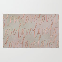 All the Love - Copper Dust Rug