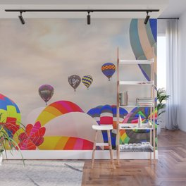Up Up and Away Wall Mural