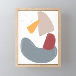 colours Framed Mini Art Print