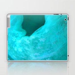 ghost in the swimming pool: aquagreen variations Laptop & iPad Skin