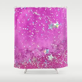 Candy Universe Shower Curtain