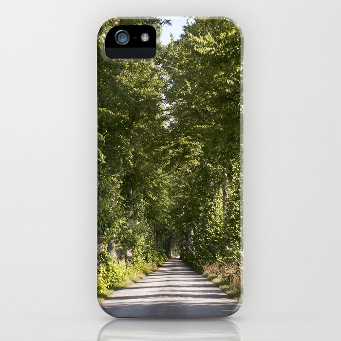 Down the road iPhone Case