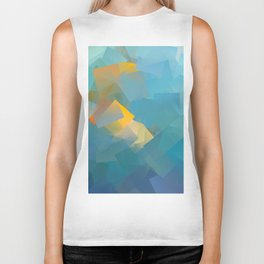 Cubism Abstract 184 Biker Tank