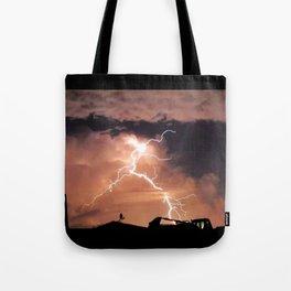 Mister Lightning Tote Bag