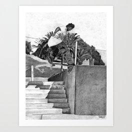 Clyde Singleton Art Print