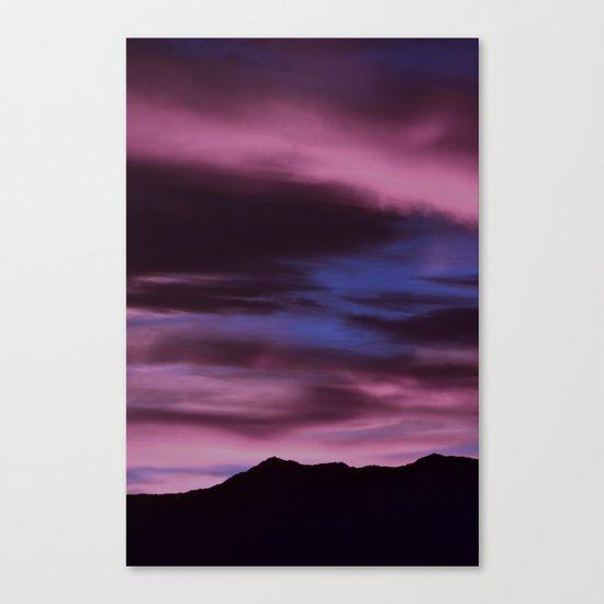 SW Rose Quartz Sunrise Canvas Print