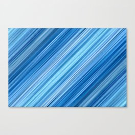 Ambient 1 in Blue Canvas Print
