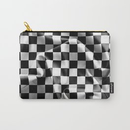 Chequered Flag Carry-All Pouch