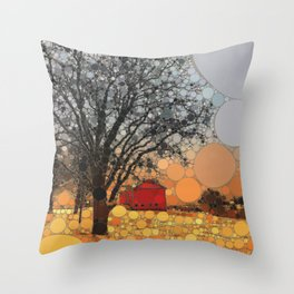:: Around Robin's Barn :: Throw Pillow