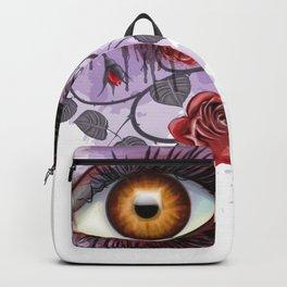Floral Eye Backpack