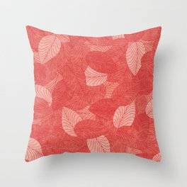 Let the Leaves Fall #08 Throw Pillow