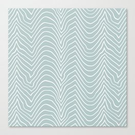 wiggly-sea Canvas Print