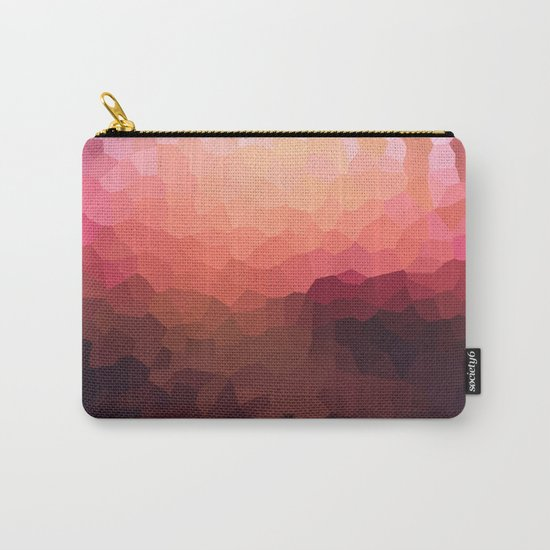 Abstraction. Sunset .  Carry-All Pouch