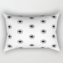 Evil Eye Magic Rectangular Pillow