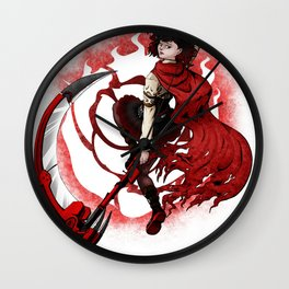 Ruby Rose Wall Clock