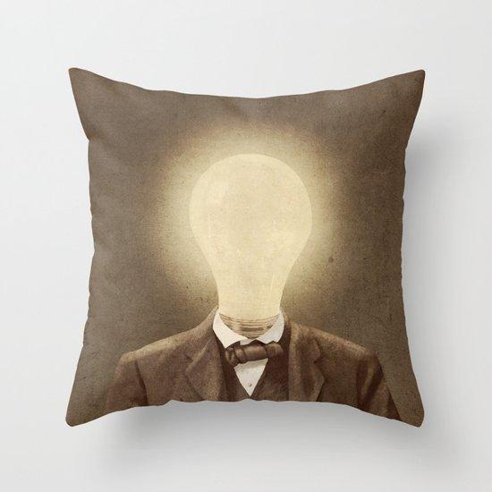 The Idea Man  Throw Pillow