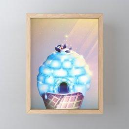 Igloo Flavour Framed Mini Art Print