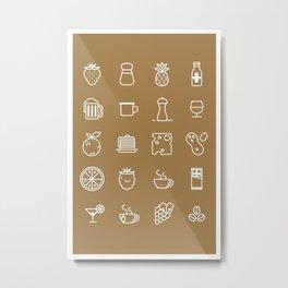 Perfect Ingredients Metal Print