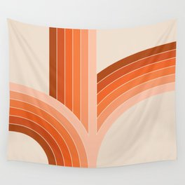 Red Rock Bounce Wall Tapestry
