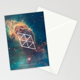 Jet in Carina II Stationery Cards