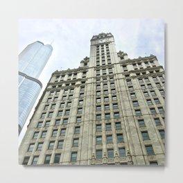 Chicago Skyscraper Metal Print