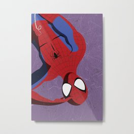 Spider-Man Poster Series: Spider-Man  Metal Print
