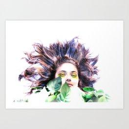 """Eve and Fauna""  Art Print"