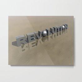 Revolution Metal Print