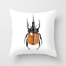 Hercules Beetle Throw Pillow