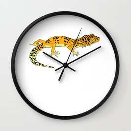Exotic Gecko Wall Clock