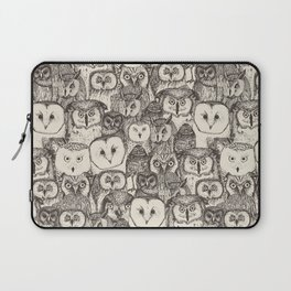 just owls natural Laptop Sleeve