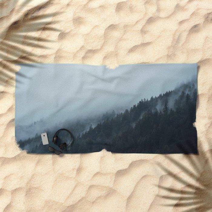 Take a hike Beach Towel