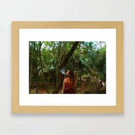 Nature stoner Framed Art Print