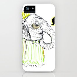 Little Elephant  iPhone Case