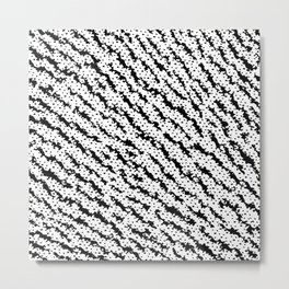 Yeezys Pattern Metal Print