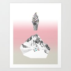Domestic landscape Art Print