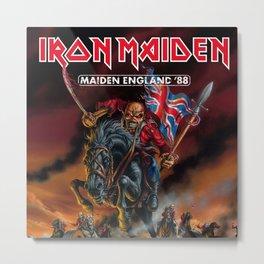 iron maiden england 1988 Metal Print